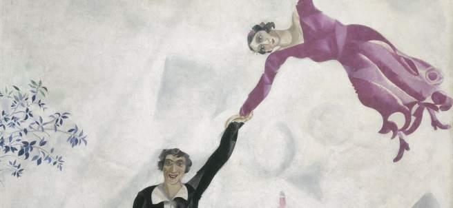 Marc Chagall. El paseo, 1917