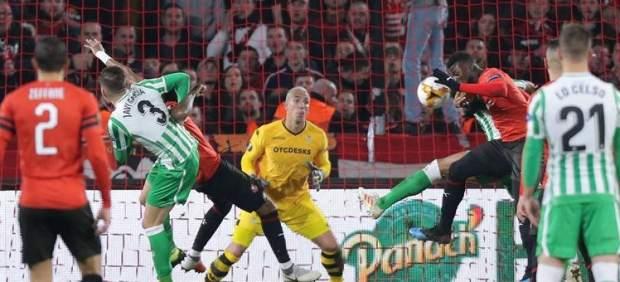 Gatillazo del Betis en la Europa League
