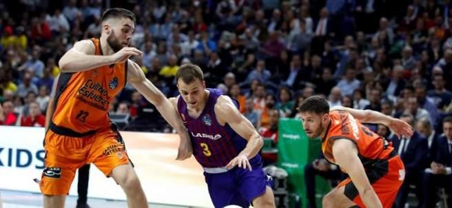 Barça Lassa vs. Valencia Basket.
