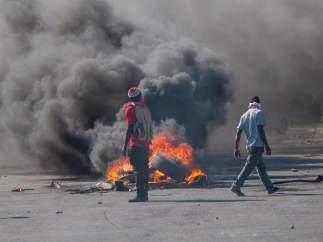Haití cumple ocho días de violentas protestas con al menos nueve muertos y un país paralizado