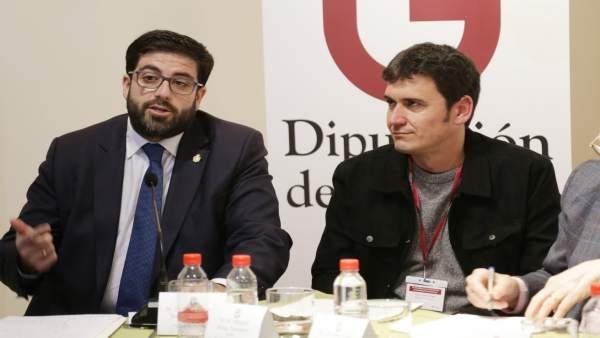 Sánchez Cabrera en la IV Conferencia de presidentes de gobiernos provinciales.