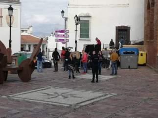 Rodaje de la serie 'Toy Boy' en Vélez-Málaga