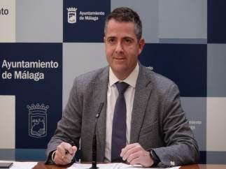 Carlos Conde, portavoz del equipo de gobierno