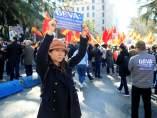 Protesta china en Madrid