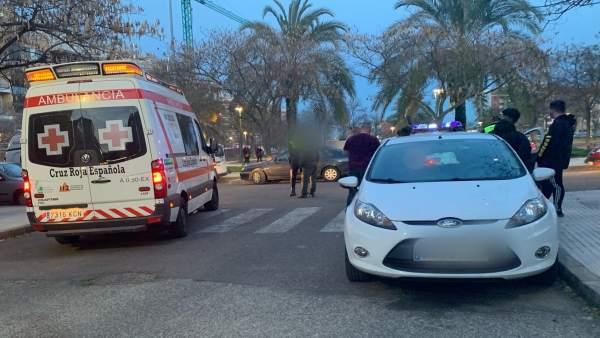 Niña de 13 años atropellada en Badajoz