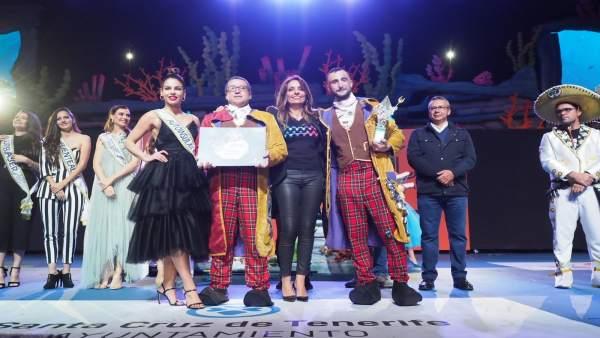 Zeta-Zetas, primer premio de Interpretación en el concurso de Murgas