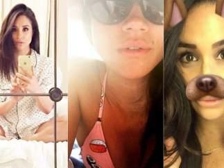 Los selfies de Meghan Markle