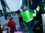 Campaña de Tráfico en autobuses escolares