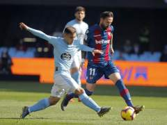 Celta vs. Levante.