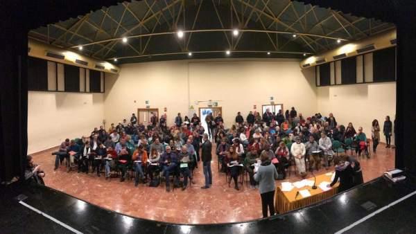 Asamblea de Adelante Sevilla el 16 de febrero