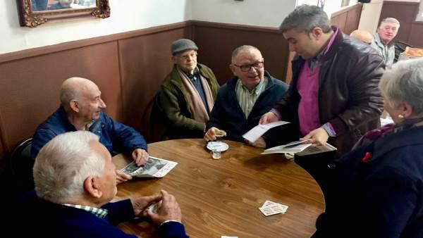 El candidato socialista a la alcaldia de Inca, Virgilio Moreno