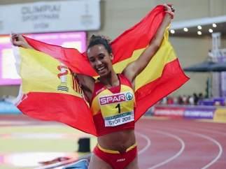 María Vicente, atleta española