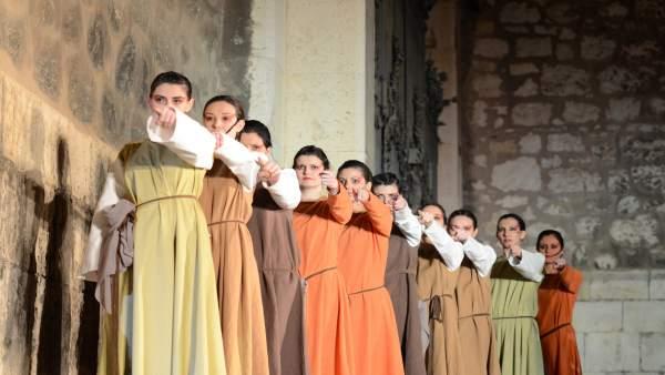Representación de las Bodas de Isabel en Teruel