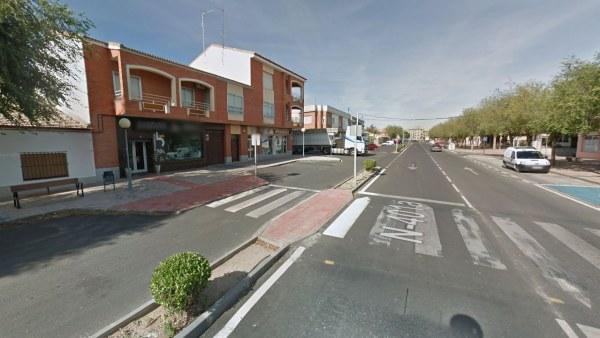 Avenida de los Reyes Católicos en Sonseca
