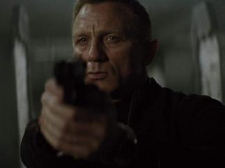 Daniel Craig como James Bond en Spectre