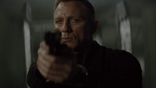 Daniel Craig como James Bond en Spectre