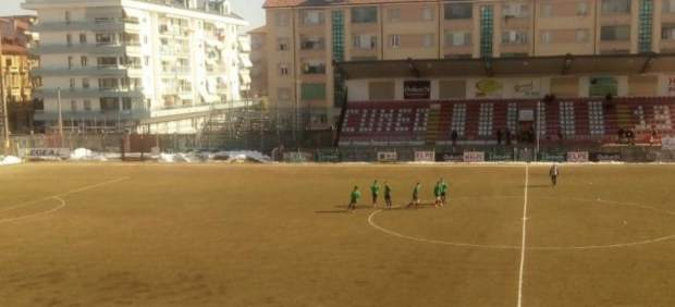 Un partido en Italia del equivalente a la Segunda B acaba 20-0