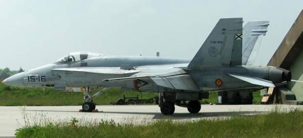 España volverá a surcar los cielos del Báltico con cinco F-18 el próximo mes de mayo