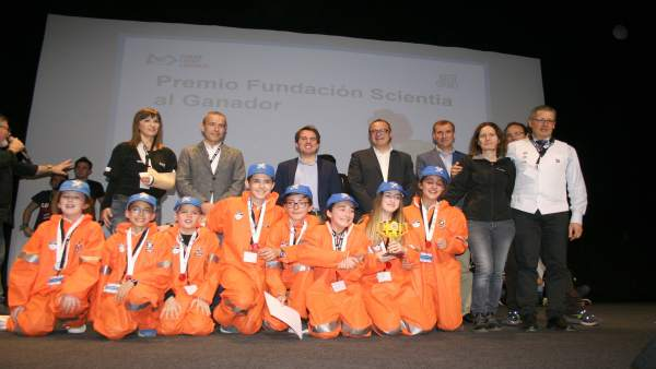 Participantes del Toreno Claisificatorio 'First Lego League'