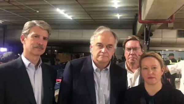 Europarlamentarios expulsados de Venezuela