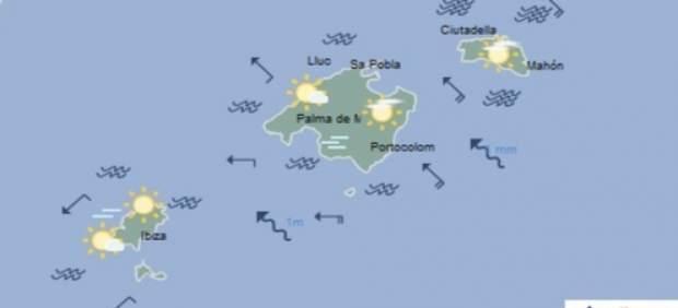 Predicción meteorológica para este lunes 18 de febrero, en Baleares: temperaturas en ligero ...