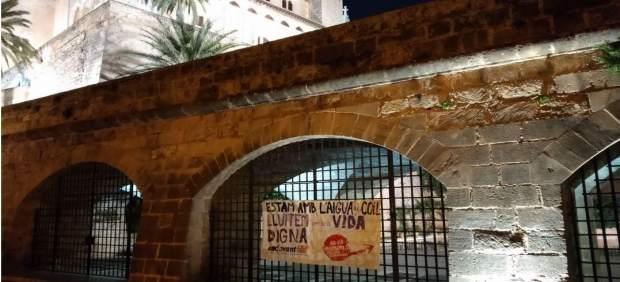 Endavant pide un salario mínimo de 1.200 euros con una acción en Palma y
