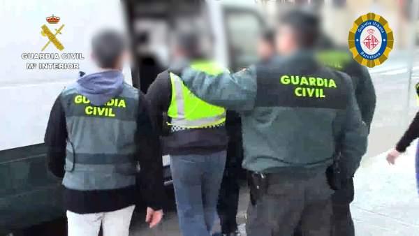 Detención de la organización criminal 'La Patrulla de la Muerte'.