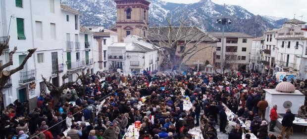 Turismo.- Güéjar destinará los beneficios de la Fiesta de la Asadura al impulso de drones para emergencias