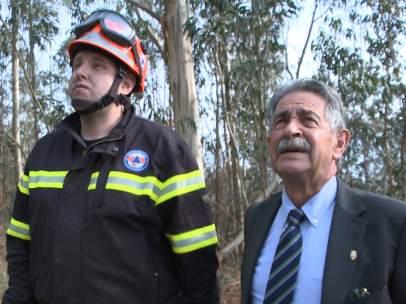 Revilla visita Ramales de la Victoria tras incendios
