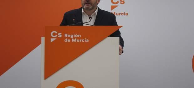 Miguel Sánchez no será candidato de Ciudadanos a la Presidencia de la Comunidad