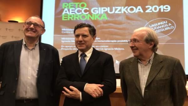 Presentación del reto AECC Gipuzkoa
