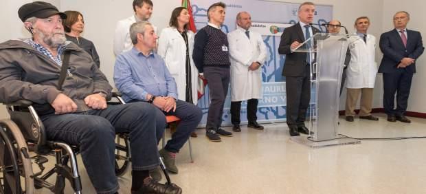 Las personas enfermas de ELA contarán con el apoyo de un servicio de psicología en el hospital bilbaíno de Basurto