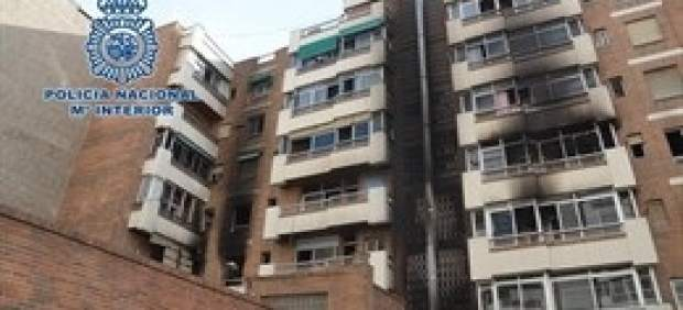 Tribunales.- Archivo provisional de la investigación del incendio de San Juan de Letrán con una fallecida