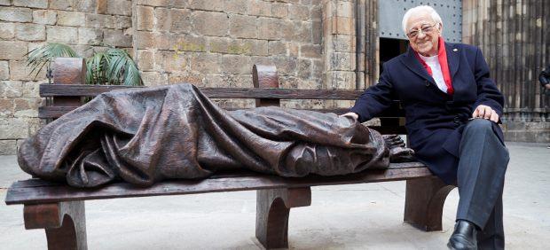 Jesús, un 'sin techo' en Barcelona