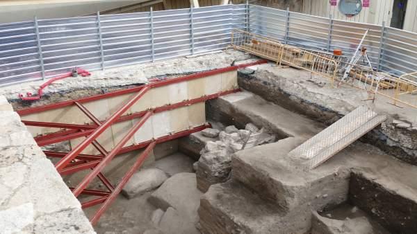 Excavaciones en la Muralla de Ávila