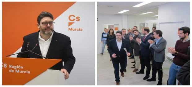 """Miguel Sánchez da """"un paso atrás"""" y se aparta de la primera línea de Cs para dedicar más tiempo a su familia y amigos"""