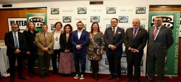Armengol asiste a la entrega de los VIII Premios Onda Cero