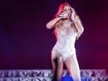 Mariah Carey durante un concierto