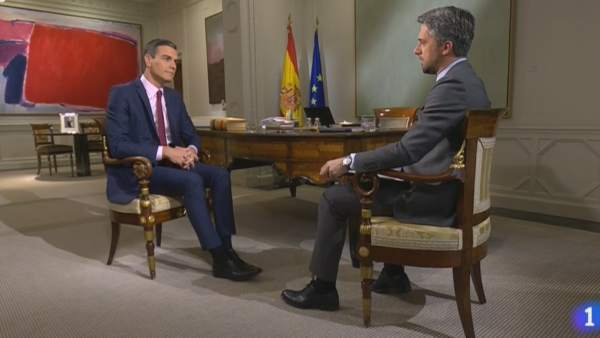 Sánchez en TVE