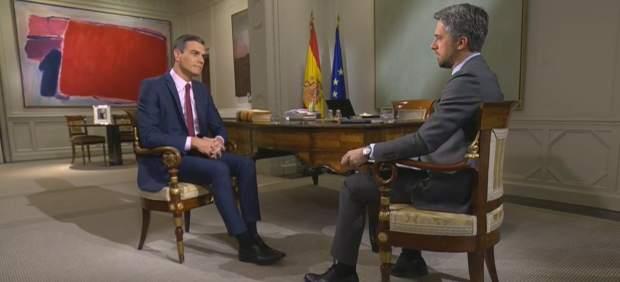 Las diez frases más destacadas de la entrevista a Pedro Sánchez en TVE