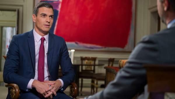 Entrevista a Pedro Sanchez en TVE