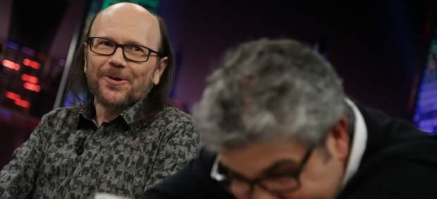 Santiago Segura y Florentino Fernández, en 'El hormiguero'.