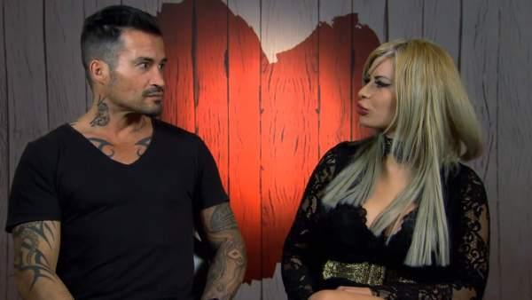 Sergio y Maddie, en 'First dates'.