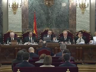 El tribunal del juicio al procés