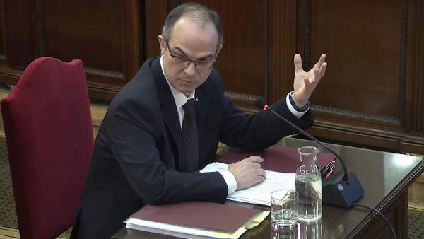 Jordi Turull declara en el Supremo