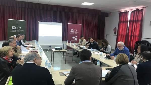 Reunión del Geoparque Villuercas-Ibores-Jara