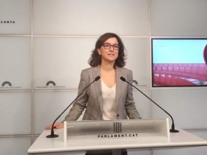 La portavoz del PSC en el Parlament, Eva Granados