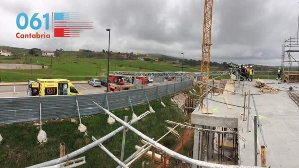 Accidente laboral en Cantabria