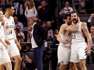 El Real Madrid de baloncesto