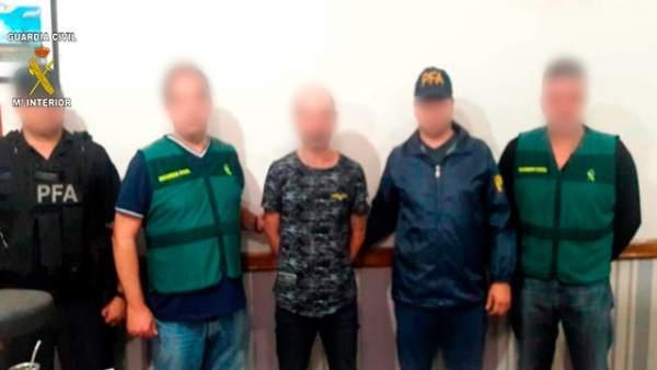 Detención en Argentina del presunto autor del crimen machista de Borriol